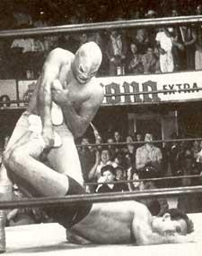 wrestling santo
