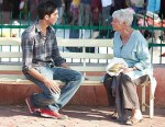 Dev Patel and Judi Dench in The Best Exotic Marigold Hotel